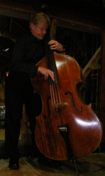Mike Porter-Ward Playing the Double Bass
