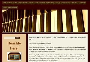 Website of pianist Eugene Portman